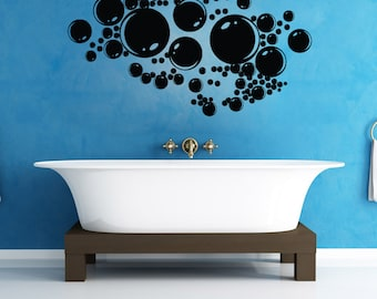Vinyl Wall Art Decal Sticker  Bubbles 1306B