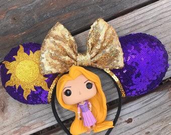 Rapunzel Ears, mouse ears, custom ears, tangled ears