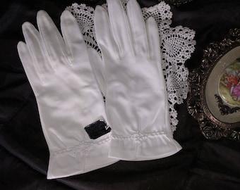 Vintage, Old New Stock, White Gloves