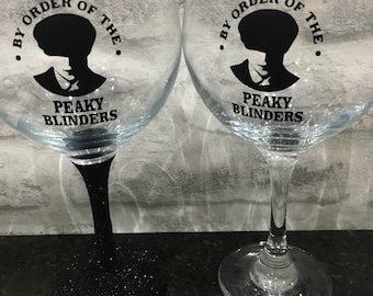 By Order of The Peaky Blinders Copa de balon gin glass ideal gift