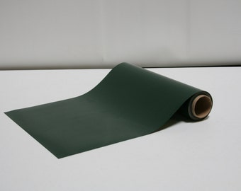"12"" x 5 Yards - Stahls' Fashion Lite - Smooth - Craft Roll - Iron-on - Heat Transfer Vinyl - HTV - Dark Green"