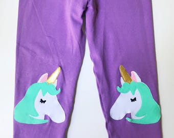 Unicorn Leggings. Girls Leggings. Kids leggings. Girls unicorn leggings. Unicorn tights. Toddler leggings. Unicorn Clothing. Unicorn gift