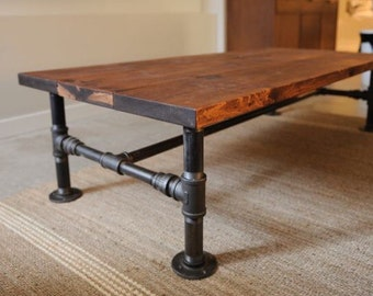 Rustic Industrial Wood End Table Or Night Stand Or Sink Base
