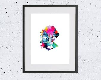 Colourful Print