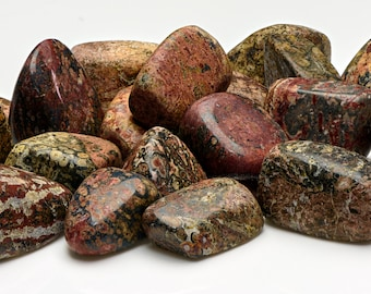 Leopard Skin Tumbled Gemstone - Stone that Stirs Your Senses