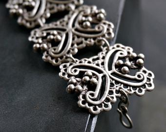 Koyunlar Silver Bracelet Tribal Bohemian Jewelry
