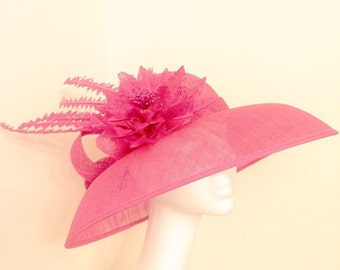 Ascot Hats, Glorious Goodwood, Dubai Gold Cup, Melbourne Gold Cup, Kentucky Derby, Epsom Derby, Wedding Hats, Occasions Hats, Fuchsia Hats.
