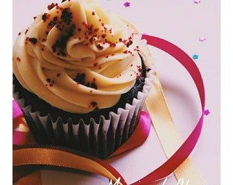 Cupcake Digital Photo Print art