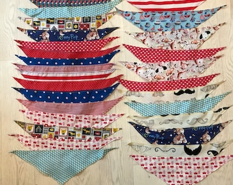 Bulk Lot of 100 Dog Bandana's