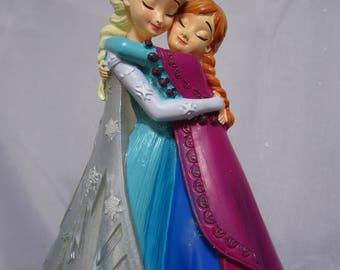 """New Disney Frozen Elsa & Anna 7"""" Figurine by Westland Giftware 2015"""