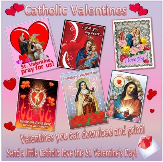 catholic valentines