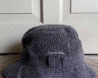 Lancel Bucket Hat in Gray Color/used