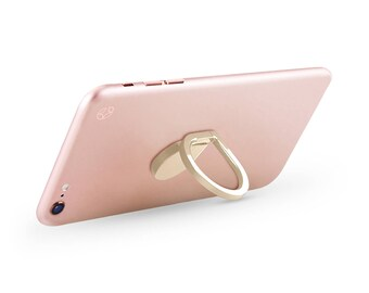 Cesoria Phone Ring & Stand with Swivel - Water Drop (Apple iPhone, Samsung Galaxy, Google Pixel)