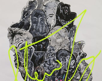 Mental health art - schizophrenia
