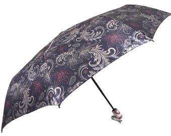 Colourful Auto Open & Close Folding Umbrella, Luxury Windproof Umbrella 931
