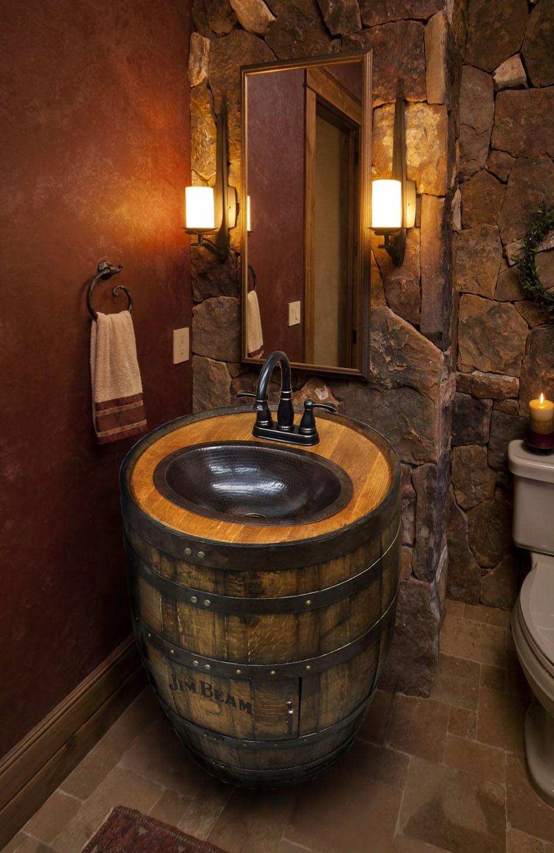 Wine Barrel Bathroom Vanity.  F0 9f 94 8ezoom