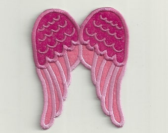 Cupid Wings, Patch! Baby Size Custom Made!