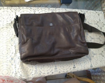 REDUCED  Fossil Leather Briefcase or Laptop Case