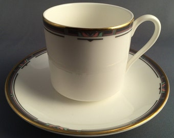 Royal Doulton Musicale Coffee Cup and Saucer