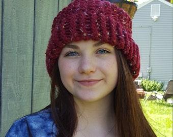 Slouchy Hat - Tweed