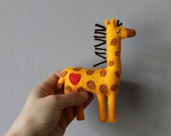 Felt Giraffe Plush