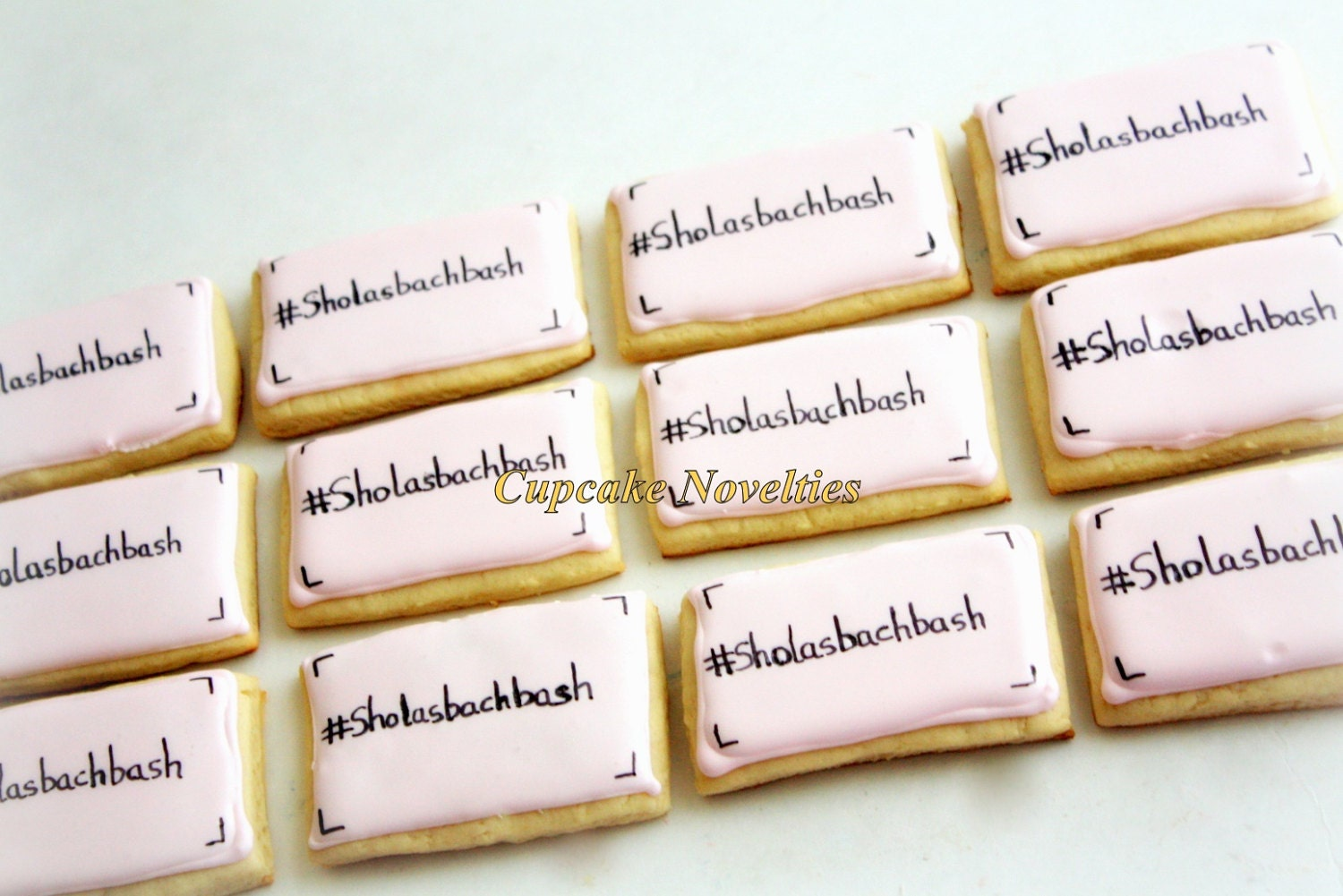 Hashtag Cookies Decorated Sugar Cookies Wedding Welcome Bags