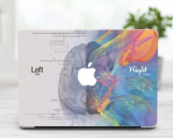 Brain Hard Case Macbook 13 Inch Laptop Left Right Brain Macbook Case Macbook Air Case Laptop Cover new Pro 13 Case Macbook Hard Shell Cover