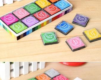 ON SALE Craft Ink Pad Set - 20 colors