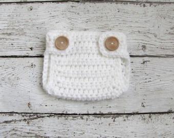 Made to Match Newborn Diaper Cover / Crochet Diaper Cover / Baby Diaper Cover / Diaper Cover Photo Prop / Newborn Diaper Covers Custom Color