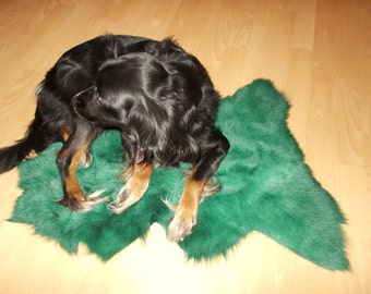 Real,Luxury  Genuine Blanket fur , Bedspread/Throw Rug , Pelzdecke , Felldecke Tagesdecke