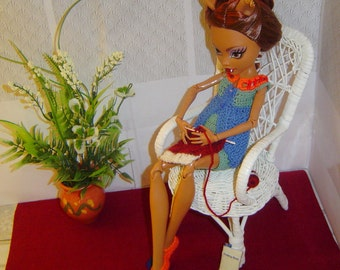 0087 Doll Pattern Knitting Accessory 1/4 1/6 Set by CarussDesignz