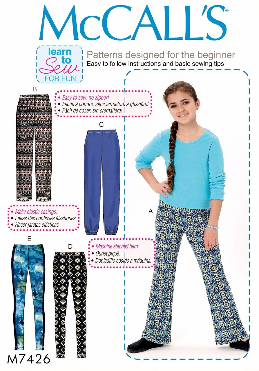 Female trousers: a pattern for beginners (step by step instruction)