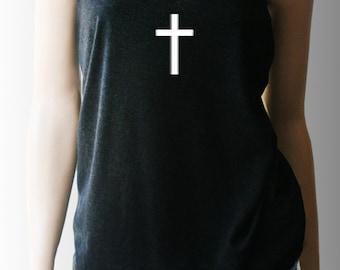 Cross Tank Top. Christian TShirts. Christian Shirts. Christian Apparel. Religious Shirt. Christian Gifts. Surrendered Soul Clothing®