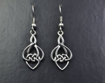 Celtic Design Sterling Silver Earrings