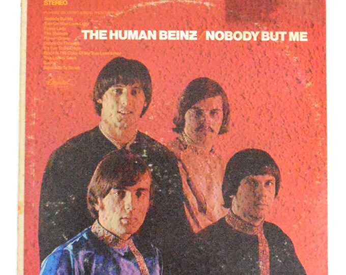 Vintage 60s The Human Beinz Nobody But Me Stereo Album Record Vinyl LP