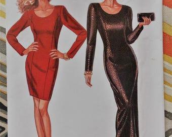 New Look uncut dress sewing pattern 6604 size 6-16