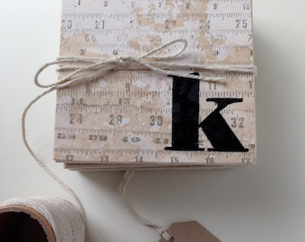 Farmhouse Coasters, DIY Gift, Yardstick Ruler Coasters, Industrial Coasters, Sewing Gift