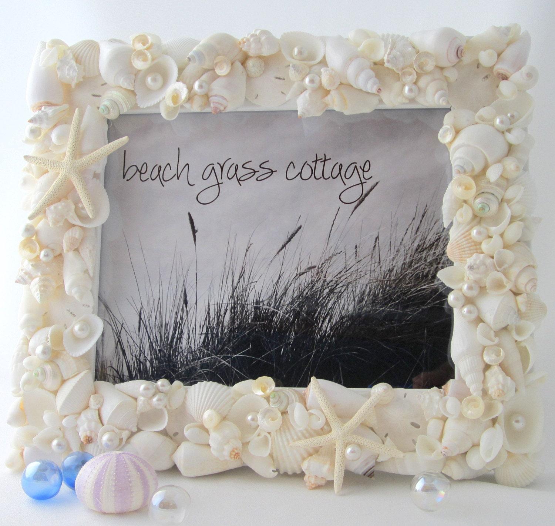 Encantador Shell Picture Frame Patrón - Ideas Personalizadas de ...