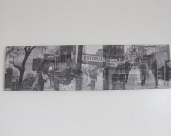 30th Ave Astoria Collage Gallery Wrap Canvas Print