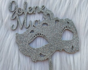 Custom Mascarade Cake Topper