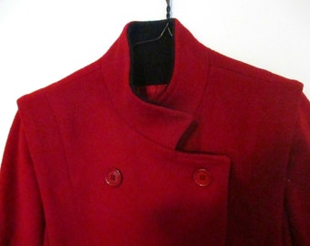 50s Vintage Worumbo Double-Breasted Coat Size L
