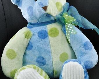 Kwik Sew 3246 Oversized Teddy Bears in Two Sizes, New Uncut Sewing Pattern