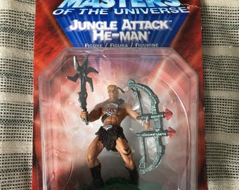 He-Man Masters Of The Universe - Jungle Attack He-Man