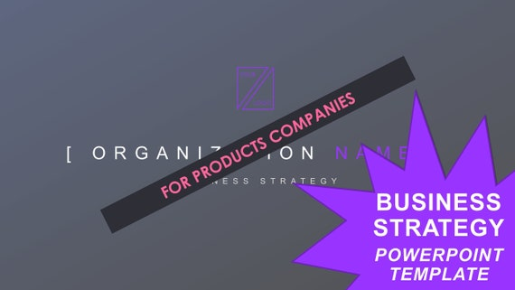 Business Strategy Template - Products