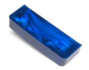 Aurora Opal - 118.52 g, Rough Opal, Opal for Opal Jewellery, Opal Carvings or Opal Inlays (Lab Created Opal, Dark Blue Opal)