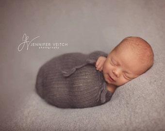 newborn knit pod, photo props, POD ONLY
