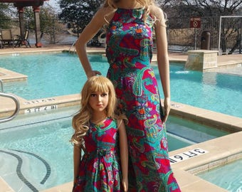 36 - Mother daughter dresses / Mommy and Me Dresses | Matching Mother Daughter Dresses| Mother Daughter Matching /mommy&me