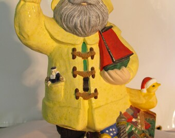 Raincoat Santa