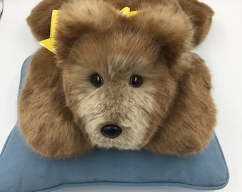 Teddy Bear Incredibly Soft, Huggable, Plush, Handmade, OOAK, For Children & Adults, Irresistible, Comforting to hold, Cuddly, Brown