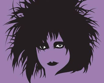 Siouxsie Sioux Tea Towel The banshees